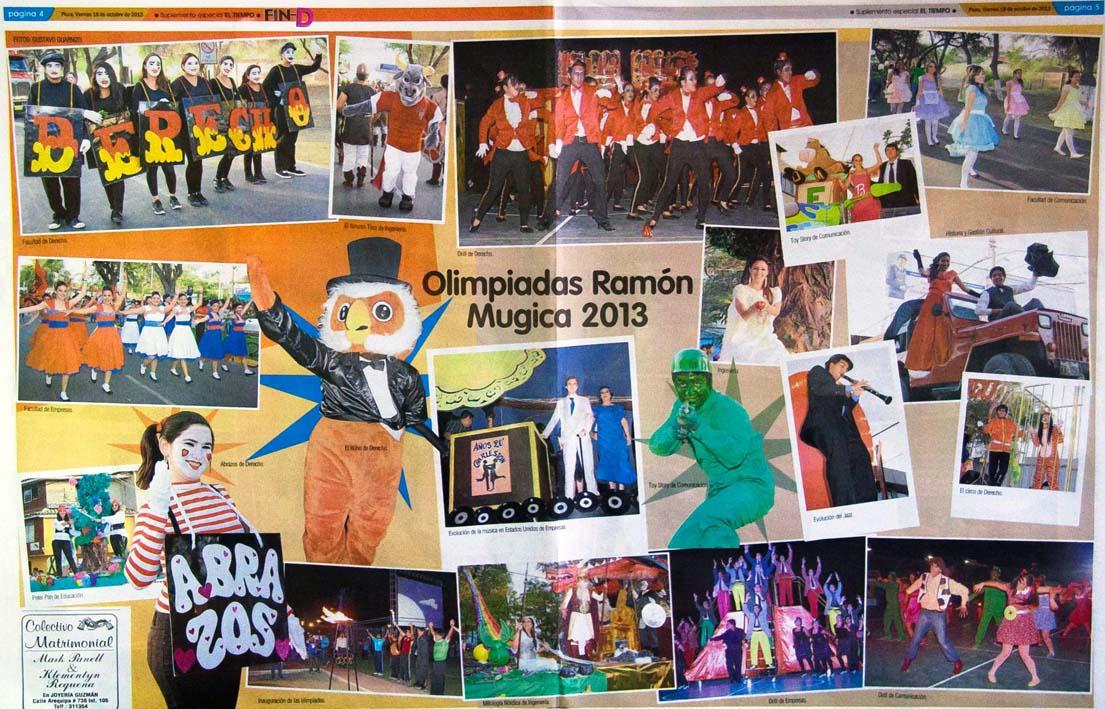 Olimpiadas Ramón Mujica, un solo sentimiento 1