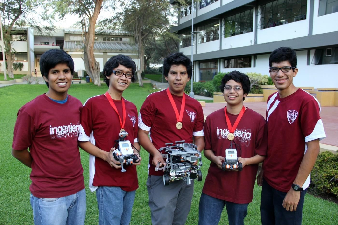 campeones robótica
