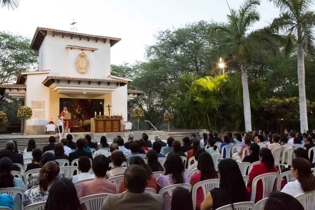 Más de 500 personas asistieron a la Misa del Espíritu Santo, en Campus Piura.