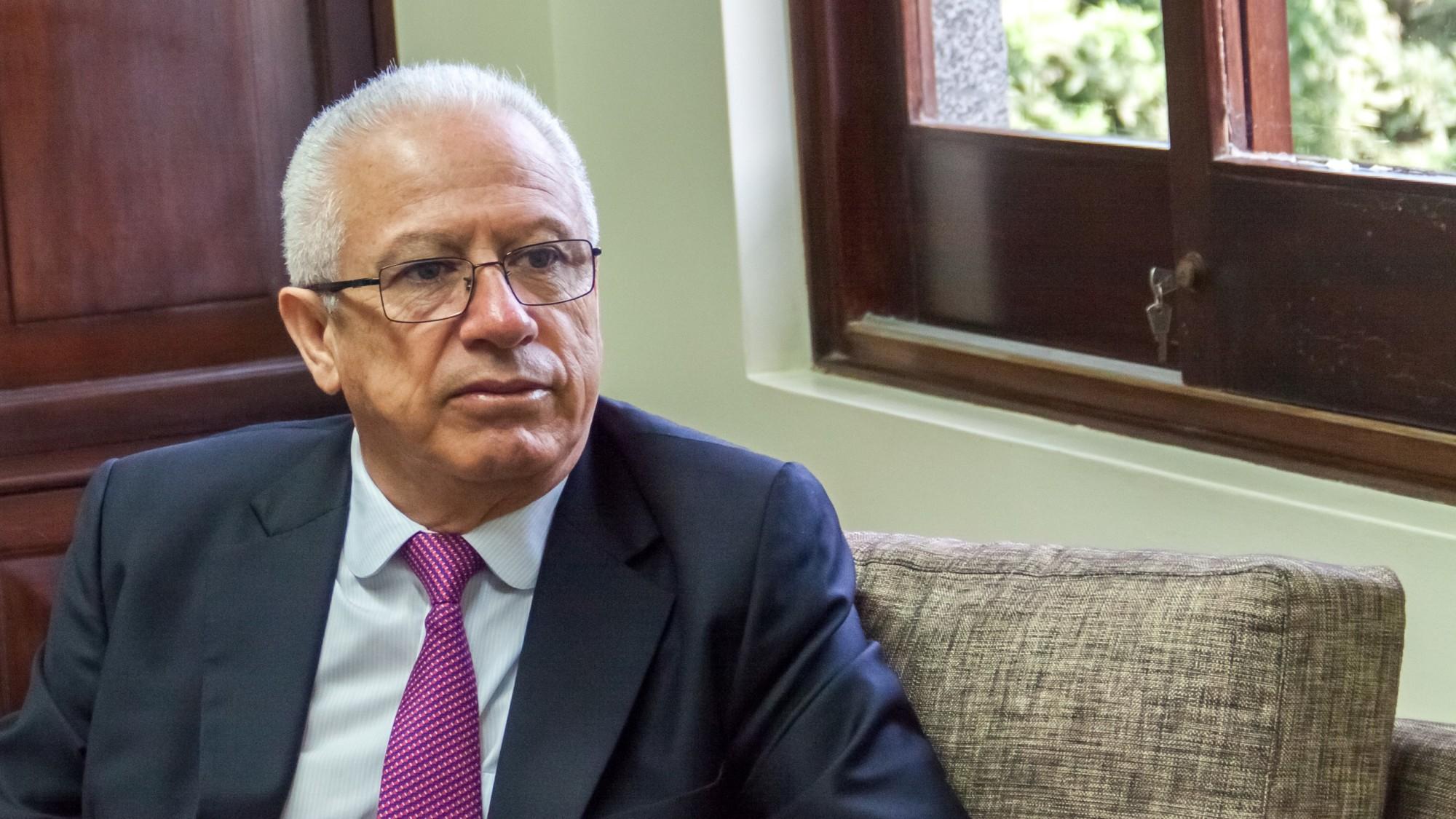Embajador Vicente Rojas Escalante