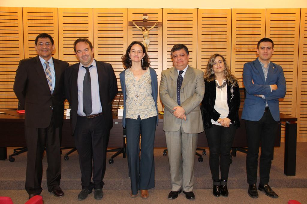 Dr. Percy Garcia en Chile 1