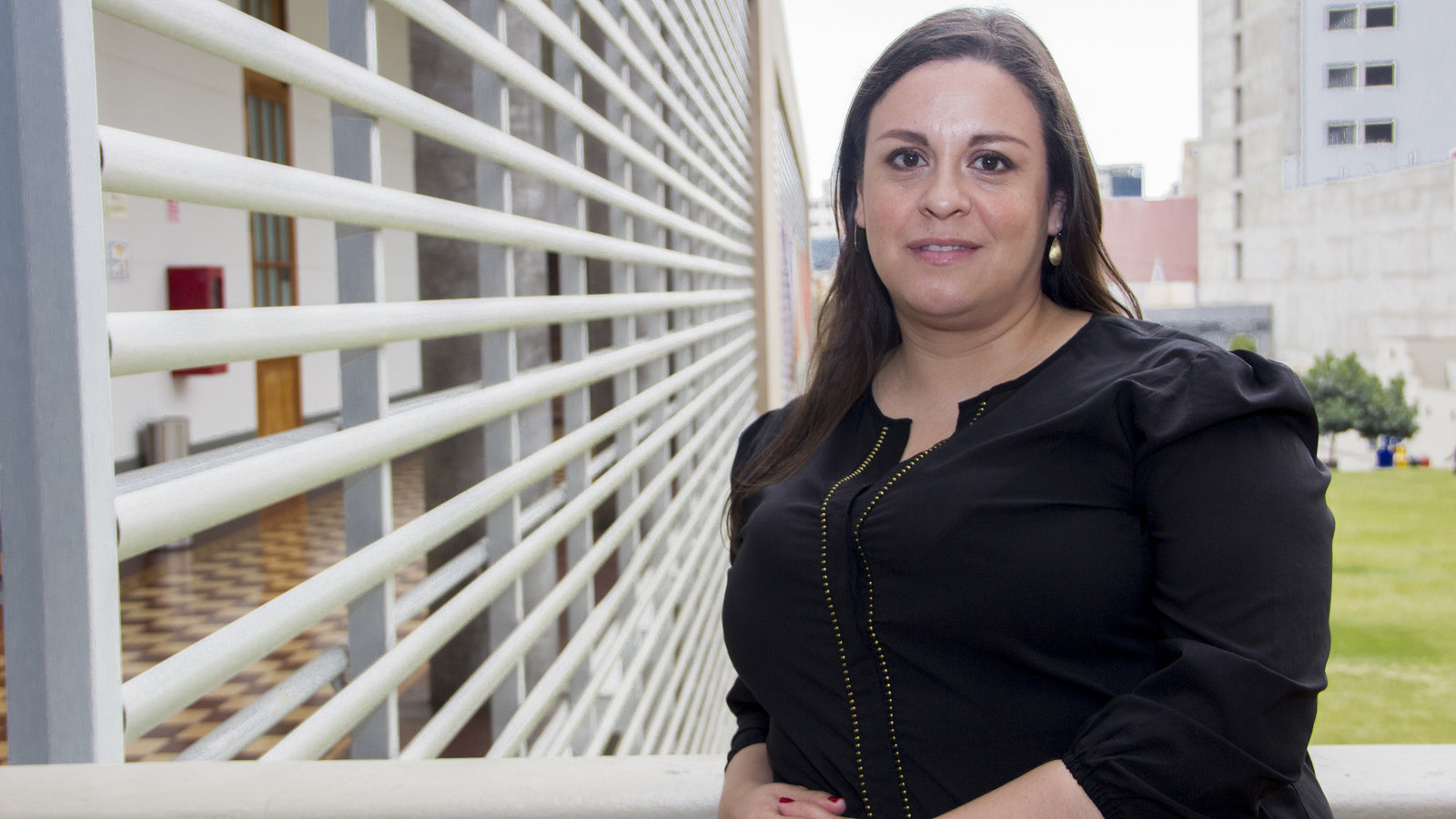 Viana Rodríguez Escobar,  profesora de la Facultad de Derecho de la Universidad de Piura.