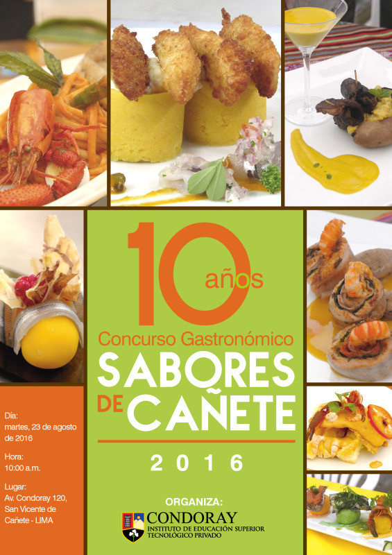 diptico  concurso gastronomico 2013