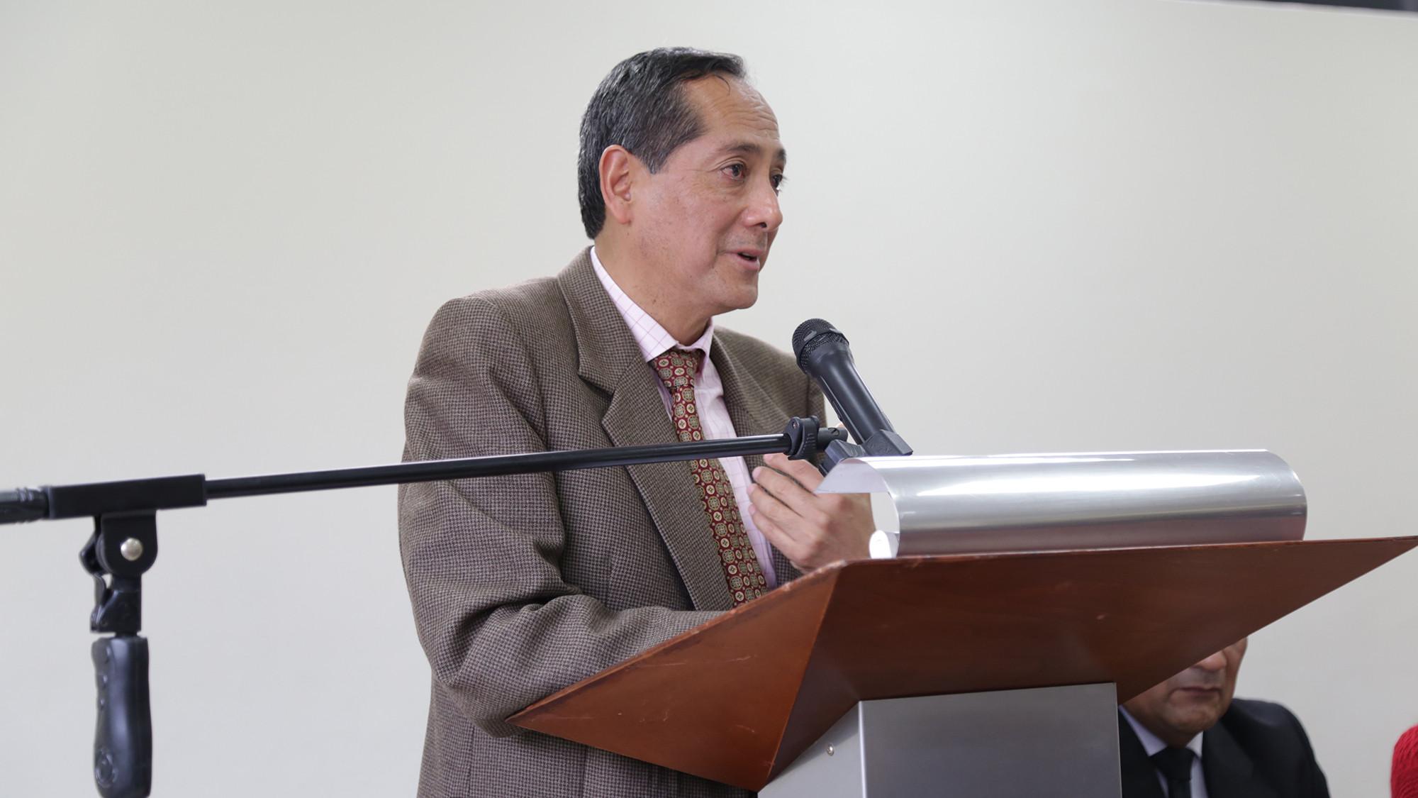 Prof. Juan Merino, Facultad de Humanidades.